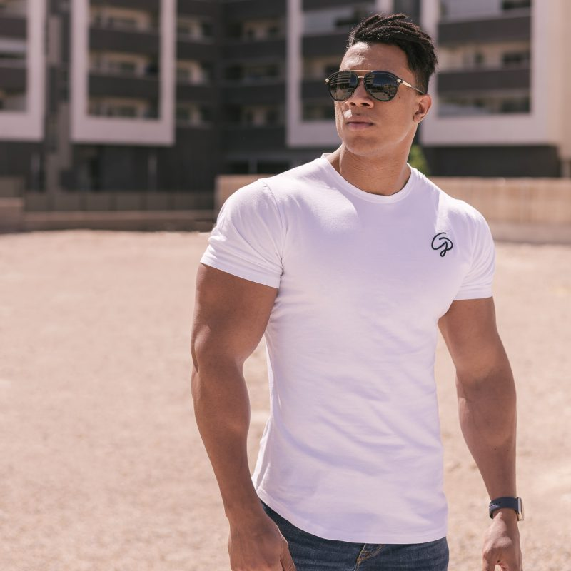camiseta gp blanca